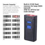 Aibecy MJ-2877 Lecteur Code Barre USB Baser BT sans Fil Barcode Scanner 1D pour Windows XP 7.0 8.0 10 system IOS Android OS de la marque KKmoon image 1 produit