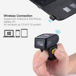 Aibecy MJ-R30 Lecteur Code Barre en Bague Portable BT Wireless sans Fil 1D pour windows XP 7,0 8,0 10 système IOS Android OS de la marque Aibecy image 4 produit