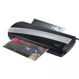 Aibecy Plastifieuse pour format max. A4 (230mm) Chaud Froid Laminator pour Plastifier avec 250mm / min Chauffage Rapide Deux rouleaux Quick 3-5min Warm-up de la marque Aibecy image 0 produit