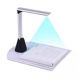 Aibecy Scanner De Documents Taille De Capture A4 / USB / CMOS 5 MPx / Lumière LED / avec CD de la marque Aibecy image 0 produit