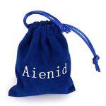 Aienid Bijoux Bague Homme Acier Inoxydable Noir Crâne Bague pour Hommes Cadeau Taille:28Mm Size:59 de la marque Aienid image 2 produit