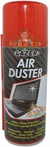 Air Duster 400ml avec paille de nettoyage Nettoyant pour claviers, Tableaux de bord, ordinateurs, scanners, imprimantes et bien plus encore de la marque RAPIDE image 0 produit