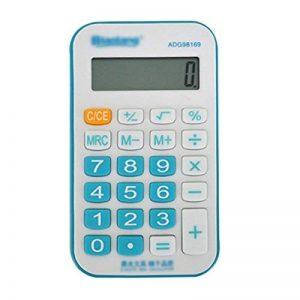 AiSi Calculatrice de Poche Mini avec Cordon 8 Chiffres Couleur Aléatoire de la marque AiSi image 0 produit