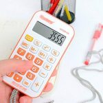 AiSi Calculatrice de Poche Mini avec Cordon 8 Chiffres Couleur Aléatoire de la marque AiSi image 1 produit