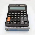 AiSi Calculatrice Solaire Bureau Grande Touche avec Cordon 14 Chiffres Noir de la marque AiSi image 2 produit