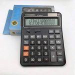 AiSi Calculatrice Solaire Bureau Grande Touche avec Cordon 14 Chiffres Noir de la marque AiSi image 3 produit