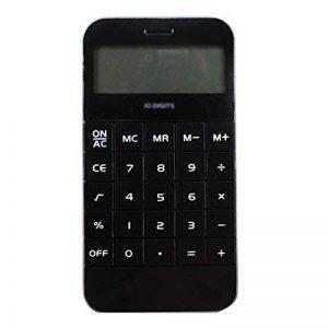 AiSi Mini Calculatrice de Poche Calculette 8 Chiffres pour Ecole Bureau Noire de la marque AiSi image 0 produit