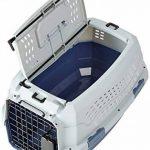 AmazonBasics Caisse de transport pour animal domestique 2portes dont 1sur le dessus 48cm de la marque AmazonBasics image 2 produit