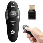 Amer goudron USB sans fil Presenter pointeur laser télécommande PowerPoint Clicker Pen Présentation PPT de la marque AMERTEER image 3 produit