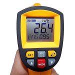 Amgaze Thermomètre Infrarouge Laser, LCD sans Contact Pyromètre à Haute Température Professionnel de la marque Amgaze image 1 produit