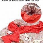 AmzBarley Filles Princesse Moana Aventure Costume pour Enfant en Bas Âge Fantaisie Cosplay S'habiller Dessus de récolte + Jupe Vêtements Ensemble 1-8 Ans de la marque AmzBarley image 4 produit