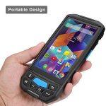 【Android 7.0】 5,0 pouces 3G 4G PDA terminal avec écran tactile Bluetooth et scanner de codes à barres Honeywell pour 1D 2D PDF417 / 5000mAh / CPU batterie rechargeable: ARM Cortex-A53 64 bits Quad-Core 1.3G / Port Micro SD / TF (Max jusqu'à 32G) de la mar image 1 produit