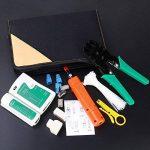 ANTAPRCIS Testeur de Network Réseau Câble Kits d'Outils de Réparation d'Ordinateur Net Professionnel Maintenance de Testeur de Câble LAN 9 en 1 Outils de la marque ANTAPRCIS image 2 produit