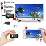Anycast WiFi Affichage Dongle 1080 P HDMI Adaptateur TV Stick Vidéo en Streaming de Téléphone / PC à HDTV / Projecteur / Moniteur Soutien Miracast Airplay DLNA de la marque Yehua image 1 produit