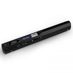 AOZBZ Scanner de Documents de Poche Portable, 900DPI USB Scanner de Image Portable Baliseur Photo Couleur A4 Mobile Scanner Handy Scan ( Format JPG / PDF, USB 2.0 Haute Vitesse, Carte Micro SD / TF Re de la marque AOZBZ image 0 produit