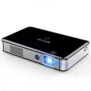 APEMAN Vidéoprojecteur DLP Portable Pojecteur Full HD 1080p avec Batterie Rechargeable Intégrée Support Système Android WIFI et Bluetooth Auto-Focus Auto-Keystone Pico Projecteur de la marque apeman image 0 produit