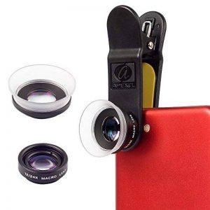 Apexel Macaro Lens- 2 en 1 12x Lentille Macro 24x Macro Mobile Camera pour Iphone Samsung HTC Xiaomi Android Smartphones de la marque Apexel image 0 produit