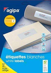 Apli 119641 Pochette de 600 Etiquettes multi-usage MTEL A4 63,5 x 33,9 mm de la marque Apli image 0 produit