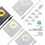 Aplic - 2A bloc d'alimentation / chargeur avec câble | connecteur CC fiche coaxiale 5,5 mm x 2,5 mm | 2000mA adaptateur de charge | longueur de câble de 1,5 m | noir de la marque CSL-Computer image 4 produit