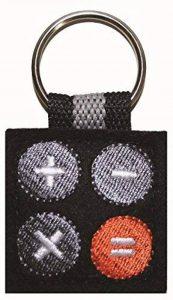 App-porte-clés-calculatrice de poche-noir de la marque appisyourlife image 0 produit