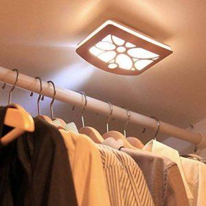 Applique murale Lampe de Chevet Lampe de Chevet Chambre veilleuse LED Rétro Allée d'armoire en Alliage d'aluminium Corps capteur Lumière, B de la marque Applique murale image 0 produit