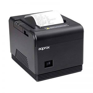 Approx APPPOS80AM3 Thermique directe POS printer 203 x 203DPI Imprimante avec un port infrarouge - Imprimantes Point de Vente (Thermique directe, POS printer, 200 mm/sec, 203 x 203 DPI, Noir, CODABAR (NW-7),Code 39,Code 93,Code-128 Codabar Library,EAN13,E image 0 produit