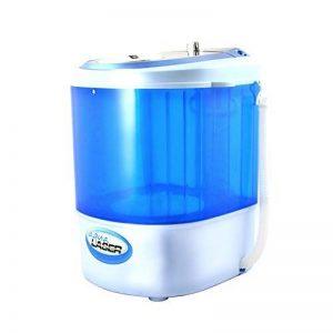 Aqua Laser Mini Lave-linge - Contient jusqu'à 2,5 KG - Avec minuterie - Peu encombrant et compact de la marque Aqua Laser image 0 produit