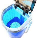 Aqua Laser Mini Lave-linge - Contient jusqu'à 2,5 KG - Avec minuterie - Peu encombrant et compact de la marque Aqua Laser image 3 produit