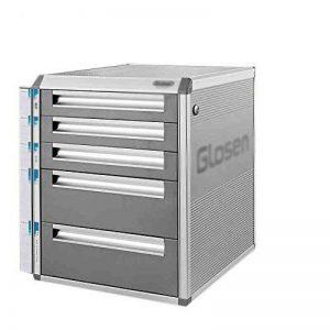 Armoires de bureau bureau avec armoire à feuilles en aluminium à plusieurs étages (Couleur : C) de la marque File rack image 0 produit