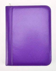Arpan Conférencier zippé avec calculatrice et bloc-notes Violet A4 de la marque ARPAN image 0 produit