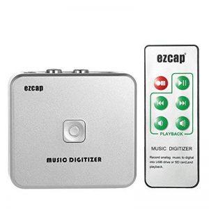 audiorekorder, docooler Enregistreur USB Cassette-à-MP3Capture Audio Musique Numériseur avec 3,5mm et RCA en disque ports enregistrement sur carte SD USB MP3de fichier avec télécommande de la marque Docooler image 0 produit