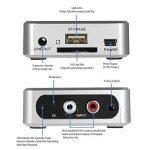 audiorekorder, docooler Enregistreur USB Cassette-à-MP3Capture Audio Musique Numériseur avec 3,5mm et RCA en disque ports enregistrement sur carte SD USB MP3de fichier avec télécommande de la marque Docooler image 4 produit
