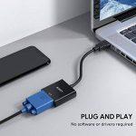 AUKEY Adaptateur HDMI vers VGA 1080P Convertisseur HDMI Mâle à VGA Femelle Compatible avec PC, TV Box, HDTV, Ultrabook, Xbox - Noir de la marque AUKEY image 3 produit
