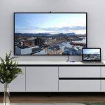 AUKEY Adaptateur HDMI vers VGA 1080P Convertisseur HDMI Mâle à VGA Femelle Compatible avec PC, TV Box, HDTV, Ultrabook, Xbox - Noir de la marque AUKEY image 4 produit