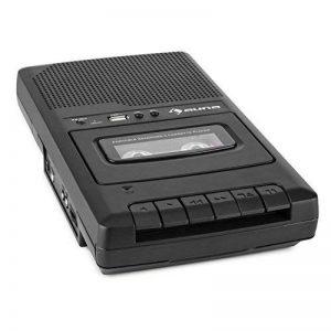 Auna RQ-132 USB Dictaphone Lecteur de Cassette Portable (USB, Enceinte intégrée, Extinction Automatique, poignée de Transport Extensible) de la marque Auna image 0 produit