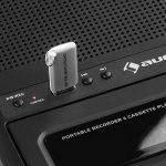 Auna RQ-132 USB Dictaphone Lecteur de Cassette Portable (USB, Enceinte intégrée, Extinction Automatique, poignée de Transport Extensible) de la marque Auna image 4 produit