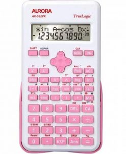 Aurora ax-582pk Calculatrice scientifique–Rose de la marque Aurora image 0 produit