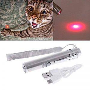 Autone jouet pour chat, 3en 1Interactive lumière LED Stylo pointeur lampe de poche rechargeable USB Stylo de la marque Autone image 0 produit