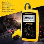 Autool CS320 Scanner de code de véhicule de voiture d'OBD2,des codes de lecture et d'effacement d'erreur pour 1996 ou plus tard le véhicule américain, européen et asiatique de protocole OBD2 de la marque Autool image 4 produit