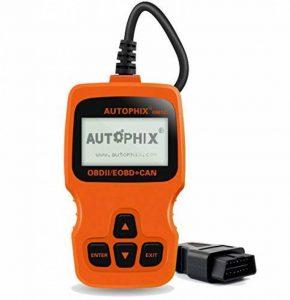 AUTOPHIX OBD2 Valise de Diagnostic Notice en Francais, OBD 2 Scanner Diagnostic Auto Multimarque pour Lire/Effacer Le Code de Moteur/I/M Test Om123 Orange de la marque AUTOPHIX image 0 produit