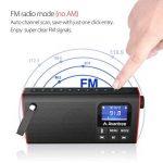 Avantree Radio FM & Lecteur Audio Micro SD, Enceinte Filaire & Sans-fil Bluetooth 3-EN-1, Mémorisation & Scan Automatique des Stations, Légère et Portable - SP850 de la marque Avantree image 1 produit