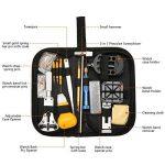 BABAN 147pcs montres Instruments/Regarde professionnelle Kit Repair Tool, Kit de réparation Étui pour montre arrière, dispositif de suppression du lien broches d'ouverture etc. de la marque BABAN image 1 produit