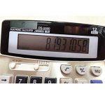 BAIYOU calculatrice, calculatrice de bureau 12 chiffres Grand écran électronique calculatrice solaire et pile AA (non incluse) double alimentation de la marque BAIYOU image 3 produit