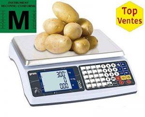 Balance commerciale poids prix 15 KG avec vignette de 2 ans de la marque Gram image 0 produit