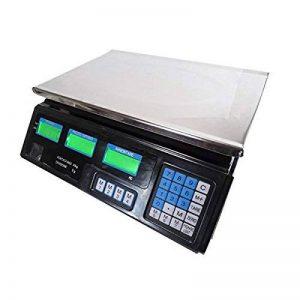 Balance électronique numérique professionnelle avec 4utilisateurs différents, max. 40 kg de la marque prodigital image 0 produit