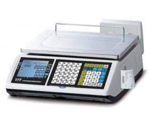 Balance poids prix à ticket caisse enregistreuse - CAS CTF-100 6/15kg - Conforme loi fiscale 2018 de la marque CAS image 0 produit