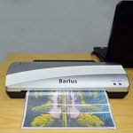 Barlus Plastifieuse A4 pour Photo/Document/Lettre/Carte Machine à Plastifier Chaud et Froid avec 10 Pochettes - 80-125 Microns de la marque Barlus image 4 produit