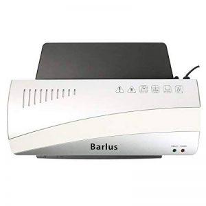 Barlus Plastifieuse A4 pour Photo/Document/Lettre/Carte Machine à Plastifier Chaud et Froid avec 10 Pochettes - 80-125 Microns de la marque Barlus image 0 produit