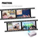 BeamerKing Vidéoprojecteur, Projecteur LED Portable de 2200 Lumens Prend en Charge Le Format Full HD 1080P HDMI USB VGA AV for Laptop iPhone Andriod Smartphone PS4 Xbox TV Box de la marque Beamerking image 4 produit