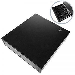 BeMatik - Tiroir Caisse Automatique Noir avec RJ11 pour imprimante POS Caisse enregistreuse de la marque BeMatik.com image 0 produit